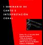 I Seminario de canto e interpretación coral