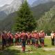 El coro alpino Penna Nera de gira por Andalucía
