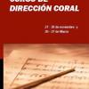 Curso de Dirección Coral de Almendralejo con Amaya Añúa