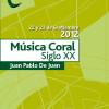 FCNAE: Taller Coral con Juan Pablo de Juan