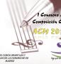 """ACM 2013"": I Concurso de Composición Coral de Agrupacoros Madrid"