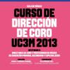 Curso de Dirección de Coro de la UC3M 2013