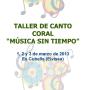 """Petit Cor: III """"Música sin tiempo"""" con Marco García de Paz"""