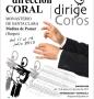 """I Curso de Dirección Coral """"Dirige Coros"""": Memoria"""
