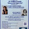IV Taller FESECO con Nuria Fernández