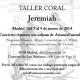 AriannaEnsemble: Taller Coral Jeremiah con Daniel de la Puente