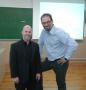 Patrick Freer en España con Alfonso Elorriaga