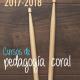 Cursos de Pedagogía Coral ACM 2017
