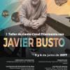 I Taller de Canto Coral Filarmonía con Javier Busto