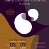 V Curso de Dirección Coral Dirige Coros
