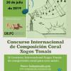 II Concurso Internacional de Composición Coral XOGOS TONAIS