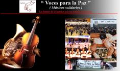 """""""Voces para la paz"""" (Músicos solidarios)"""