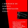 """I Seminario de canto e interpretación coral """"Villa de Humanes"""""""