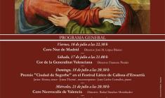 XXVII Festival Coral de Segorbe (Castellón)