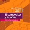 """Taller coral FCNAE """"El compositor y su obra, Xabier Sarasola"""", por Carlos Gorricho"""