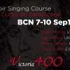 Victoria 400: Curso de Canto Coral en Barcelona