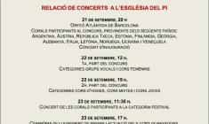 """XIII Festival Internacional de Canto Popular """"Europa y sus Cantos""""."""