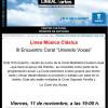 """III Encuentro Anual """"Uniendo Voces"""" en el Distrito Ciudad Lineal de Madrid"""