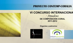 VI Concurso Internacional Amadeus de Composición Coral