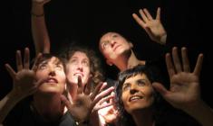 Saravasti, cuarteto vocal femenino: presentación