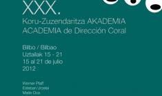 EAE: XXX Academia de Dirección Coral