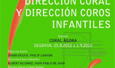 XVI Curso de Canto Coral, Técnica Vocal y Dirección Coral de Segovia