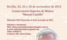 Taller Coral con Dante Andreo en Sevilla
