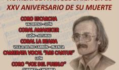 """XII Muestra Coral Valdepolo: Premio Extraordinario """"Ángel Barja in memoriam"""""""