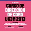 Curso de Direccin de Coro de la UC3M 2013