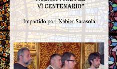 """Xabier Sarasola: II Taller Ciudad de Caspe """"Música para el Compromiso"""""""