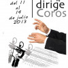 I Curso de Direccin Coral &#8220;Dirige Coros&#8221;