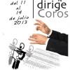 """I Curso de Dirección Coral """"Dirige Coros"""""""