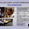 """Cantate Mundi: Taller Coral """"En-Armonía"""""""