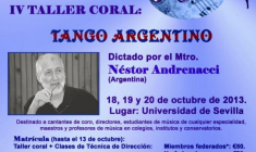 IV Taller FESECO con Néstor Andrenacci