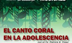 """7es Jornades d'Educació Musical:  """"El Canto Coral en la Adolescencia"""" por el Dr. Patrick K. Freer"""