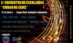 """II Encuentro de Escolanías """"Ciudad de Cádiz"""""""