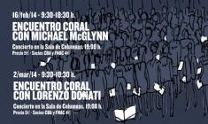 Encuentros Corales de la UC3M con Michael McGlynn y Lorenzo Donati
