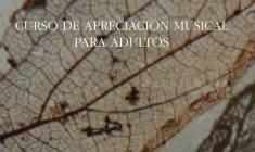54 SMRC: Curso de apreciación musical para adultos