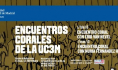 Encuentro Coral de la UC3M con Nuria Fernández