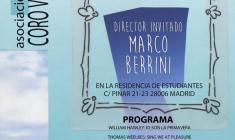 21er Seminario Vox Aurea con Marco Berrini