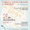 """Voces Graves de Madrid: """"Un juguete, una ilusión"""""""