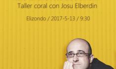 Coral Elizondo: Taller con Josu Elberdin