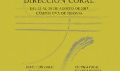 XXI Curso Ágora de canto coral, técnica vocal y dirección coral