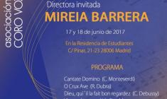 Vox Aurea: 23º Seminario de Canto Coral con Mireia Barrera