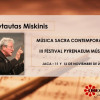 III Pyrenaeum Música con Vytautas Miskinis
