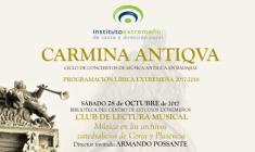 InDiCCEx: Primer Club de Lectura Musical en Extremadura