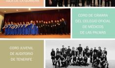 """Estreno """"Garajonay"""" arr. Dante Andreo: Encuentro Coral Fiestas Lustrales de La Gomera"""