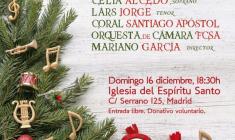 FCM-FCSA: Concierto benéfico y participativo de Navidad