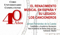 """CUC: Conferencia """"Los cancioneros españoles"""" por Ismael Fernández de la Cuesta"""