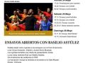 III Ciclo Moncayo de Música Solidaria: ensayos abiertos con Basilio Astúlez